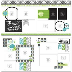 Picture of Tropical Bloom Page Layout Kit